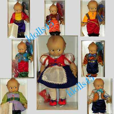 Dolls Ashton Drake Snow White & Her Seven Kewpies Set Retired Age 14+ Unisex