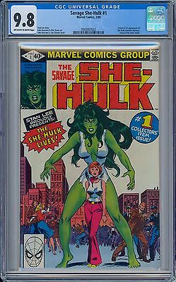 SAVAGE SHE HULK #1 - CGC 9.8 OW/WP  NM/MT 1st Jennifer Walters