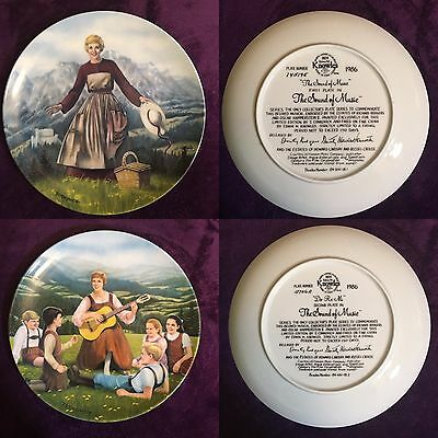 """Limited Edition """"The Sound of Music"""" 8 Plate Series"""