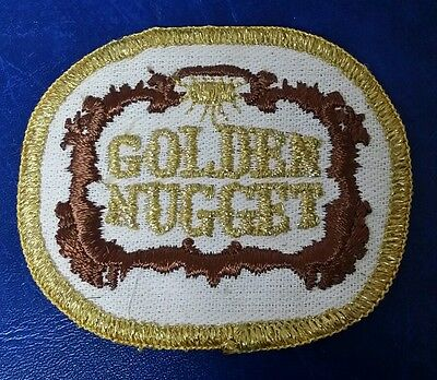 Rare Golden Nugget Casino Las Vegas, Nevada Gambling Patch