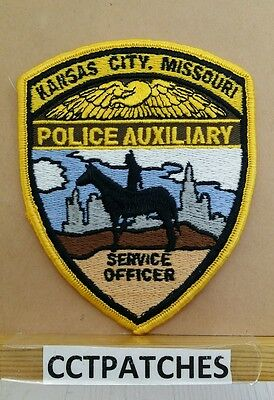 Kansas City, Missouri Police Auxiliary Shoulder Patch Mo