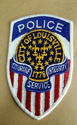 City Of Louisville, Kentucky Police Shoulder Patch Ky