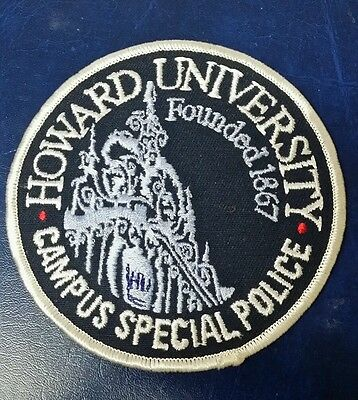Howard University Washington Dc District Of Columbia Campus Special Police Patch