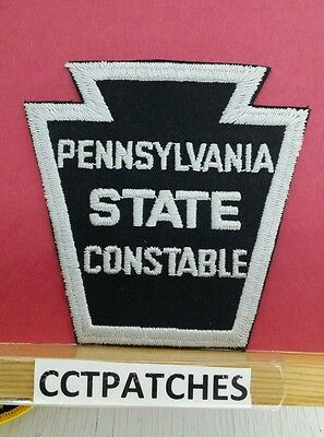 Pennsylvania State Constable Police Shoulder Patch Pa