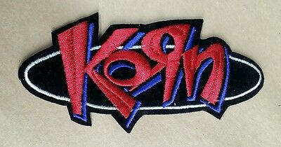 "Korn Rock Band Patch 5 3/8"" X 2 1/2"