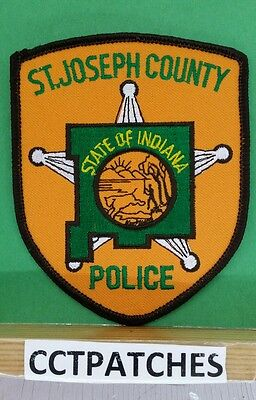 St Joseph County, Indiana Police Shoulder Patch In 2