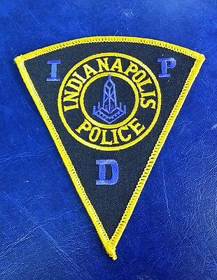 Indianapolis, Indiana Police (Yellow) Shoulder Patch In