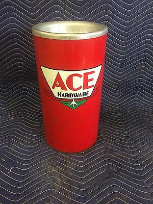 Ace Hardware Store Ash Tray/ Ashcan