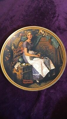 2 Norman Rockwell Collectors Plates
