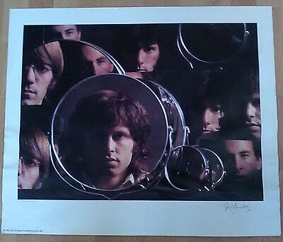 """Doors """"Mirrors"""" Signed Lithograph Limited Edition"""