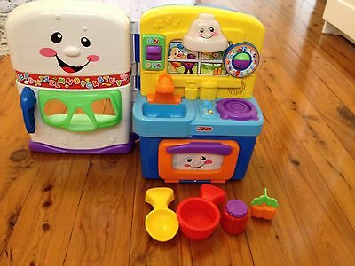 Fisher Price Learning & Bilingual Kitchen - Preschool Toy