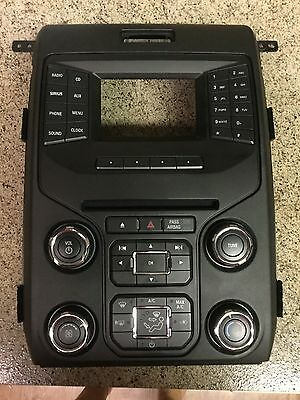 2013 Ford F-150 OEM Bezel Faceplate Dash With 4.3 Inch Screen & CD Player