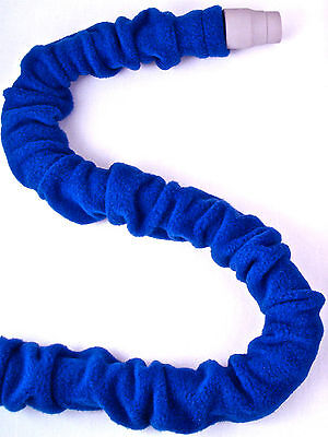 Snuggle Skins - CPAP Insulating Hose Cover Blue for 6' or 8' tubing