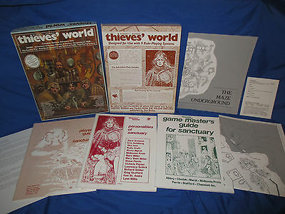 Chaosium 2007 Thieves World Boxed Complete Sanctuary RPG ICE