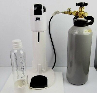 Soda maker soft drink compatable with sodastream cylinder mineral water stream
