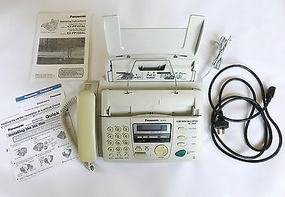 Fax Machine and Answering System Panasonic KX-FP155AL