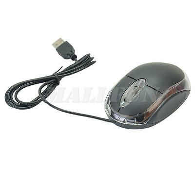 Practical Small Wired USB Scroll Wheel Optical Mouse for PC Laptop Computer CTY
