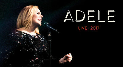 A RESERVE - Adele Melbourne show 19th March 2017 - 2 Available