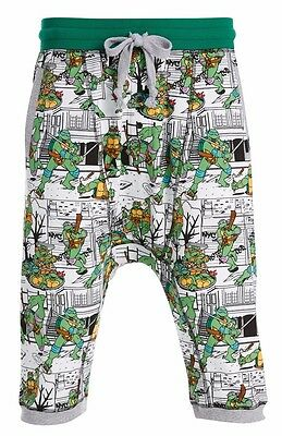 PETER ALEXANDER PJS Mens TMNT Ninja Turtles Drop Crotch Shorts S/M/L/XL BNWT PJ