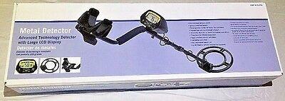 Advanced Technology Metal Detector with Large LCD Display