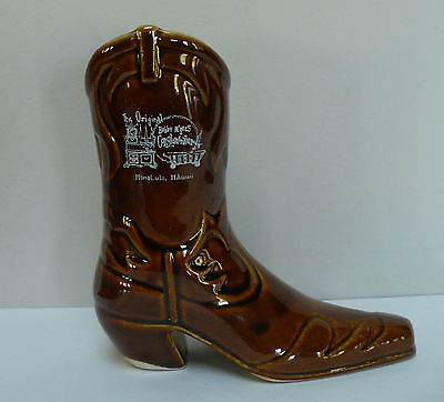 Original Bobby McGee's Conglomeration Mug Daga Honolulu Hawaii Cowboy Boot