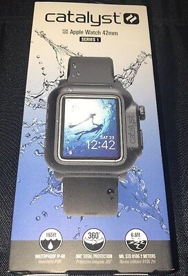 Catalyst Case For 42Mm Apple Watch Series 1 - Stealth Black Brand New