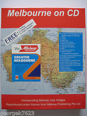 Melway - Melbourne on CD street directory - edition 26 - 1999