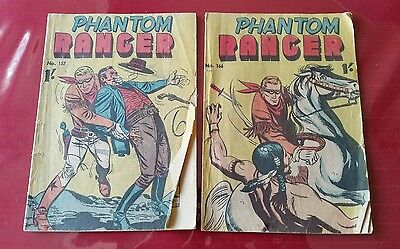Phantom Ranger No. 157 &  No. 166  Australian comics