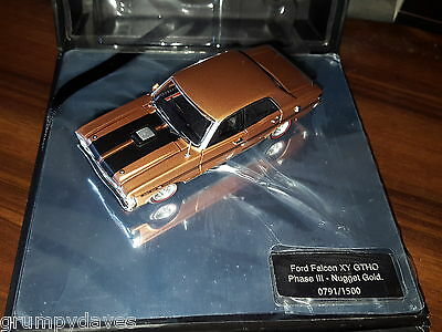 The Biante 1:43 Reserve Collection Ford Falcon Gtho Phase 111 Nugget Gold