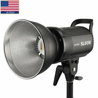 US Godox SL 60W 5600K Studio Photography LED Video Light  Lighting for DV Camera