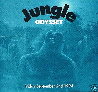 JUNGLE MANIA Rave Flyer Flyers 2/9/94 A4 The Gaiety Suite Portsmouth