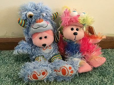 2 x BEANIE KIDS BRAND NEW MINT+NOT AVAILABLE IN STORES +RETIRED CHRISTMAS