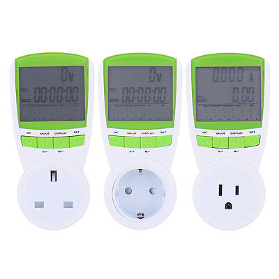 Plug-in Energy Monitor Power Meter Electricity Electric Usage Socket TS-838