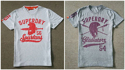 **Superdry** Mens Classic T-Shirt Short Sleeve Crew Top Tops Tee Size S-3XL