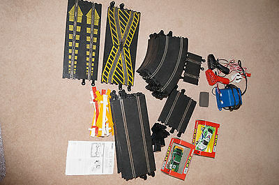 Matchbox Scalextric (SCX) set with track and cars