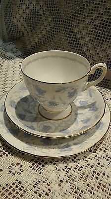 Vintage Tuscan English Cup, Saucer & Side Plate Set