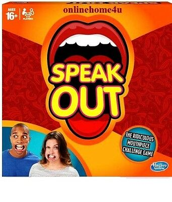 New Hot UK Sell Genuine Hasbro Speak Out Board Game Party BEST Gift