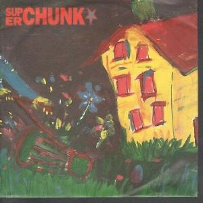"SUPERCHUNK Mower 7"" VINYL German City Slang 1992 Orange Vinyl B/W On The Mouth"