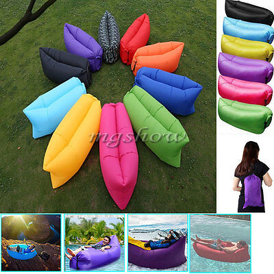 Air Chair Inflatable Sofa Air Bed Lounger Chair Sleeping Bag Mattress Seat Couch