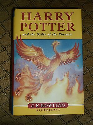 Harry Potter and the Order of the Phoenix 1st edition