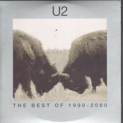 U2 Best Of 1990-2000 DVD US Interscope 2002 4 Track Promo Bonus Disc From