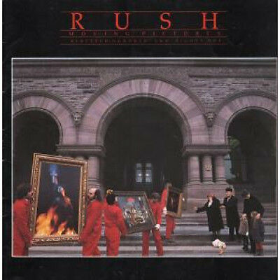 "RUSH Moving Pictures TOUR PROGRAMME UK 1981 12""X12"" Colour Tour Programme. Worn"