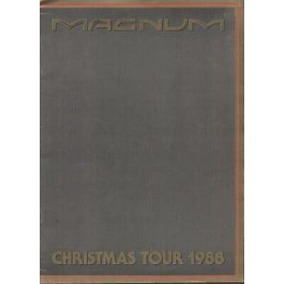 MAGNUM (METAL GROUP) Christmas Tour 1988 TOUR PROGRAMME UK 1988 Full Colour