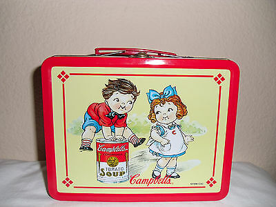 Campbells Tomato Soup 1998 Vintage Collectible Metal Lunch Box