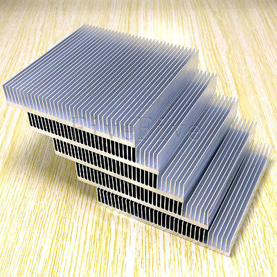 5pcs Cooling Fin Heat Sink for PCB LED Memory Chip IC Radiator (90mm*90mm*15mm)