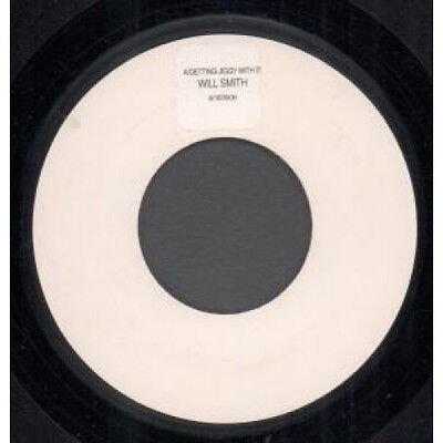 """WILL SMITH Getting Jiggy With It 7"""" VINYL UK Columbia 1998 Jukebox Promo With"""