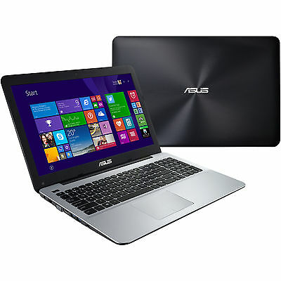 ASUS R556LA XX1554T Intel i3 4500U 15.6 HD 4GB 1TB DVDRW WLAN Windows 10
