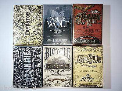 PROHIBITION - all 6 decks without box - ELLUSIONIST - PERFECT CONDITION