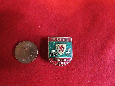 Beith Bowling Club Pin Badge