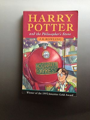 Harry Potter and the Philosopher's Stone 1st Ed. paperback 35th print run 1997